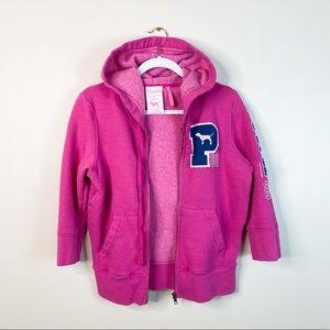 PINK Victoria's Secret small zip-up hoodie dog S
